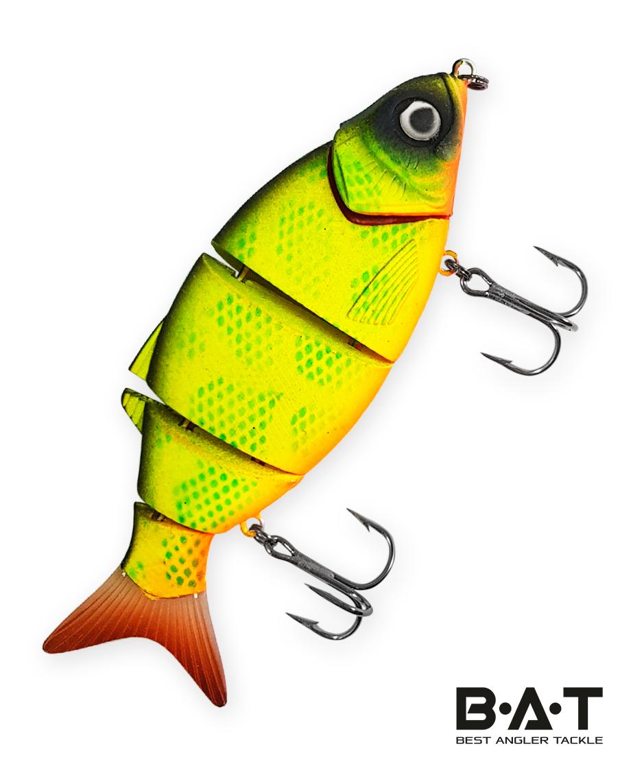 Воблер BAT Faipan 3-joint 4477105 (20 гр., 105 мм.Sinking) Цвет 261
