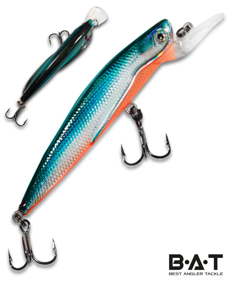 Воблер BAT Classic Flipper 4402070 (6 гр., 70 мм.1,5 м.) Цвет 266