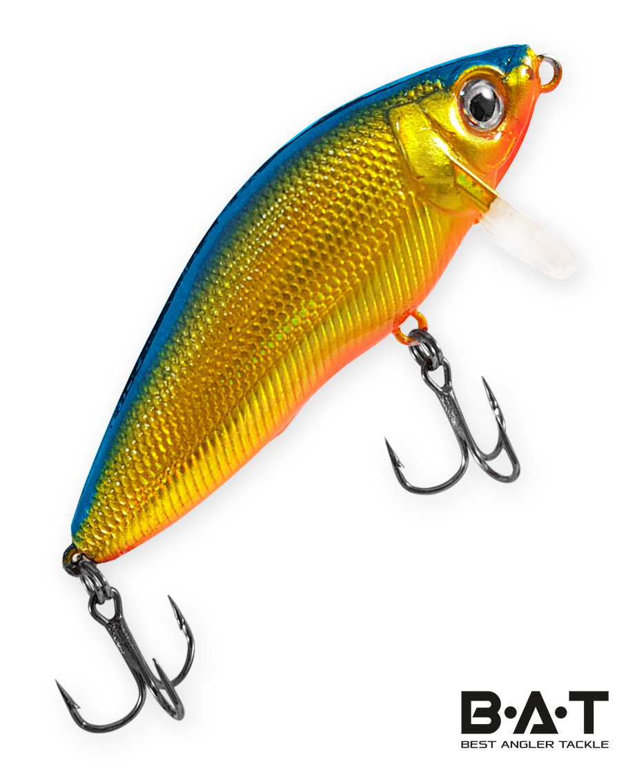 Воблер BAT Fighting Minnow 4446065 (8 гр., 65 мм.,3 м.) Цвет 203
