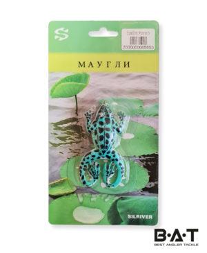 Блесна Silriver лягушка маугли