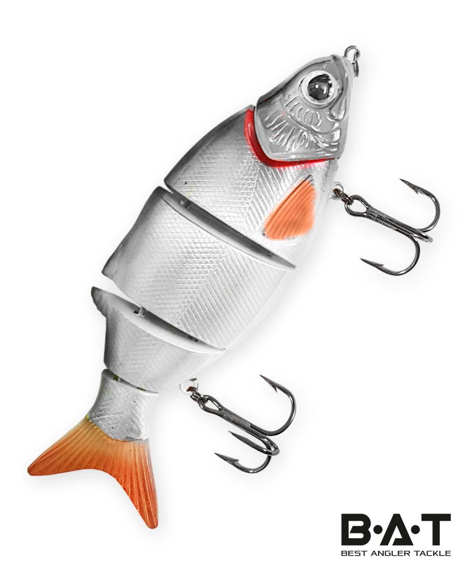 Воблер BAT Faipan 3-joint 4477105 (20 гр., 105 мм.Sinking) Цвет 255