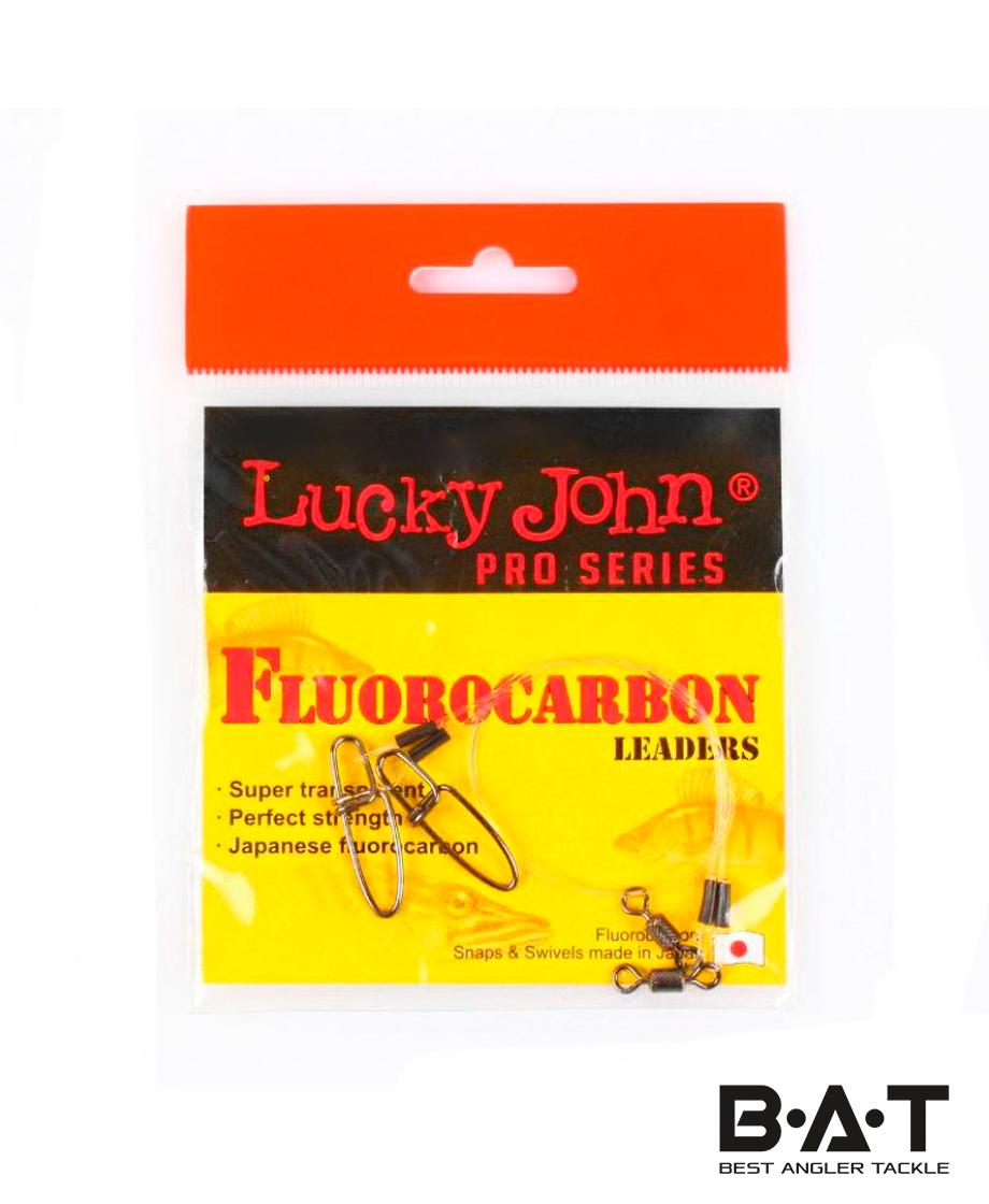 Поводок LUCKY JOHN Fluorocarbon 34 кг. 25 см.