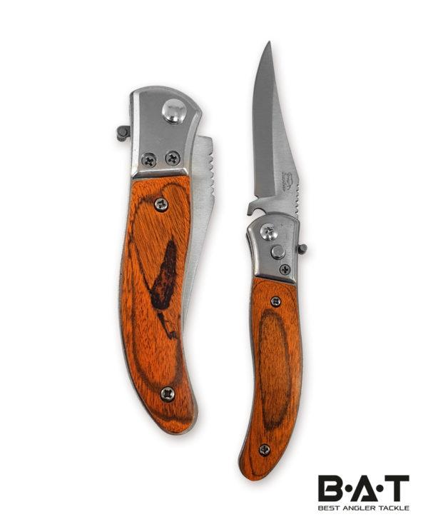 Нож складной в чехле малый (дерево)