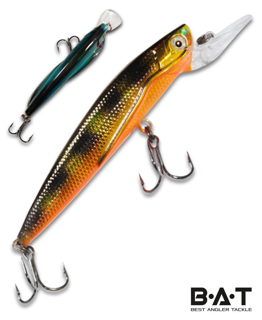 Воблер BAT Classic Flipper 4402090 (9 гр., 90 мм.2 м.) Цвет 251