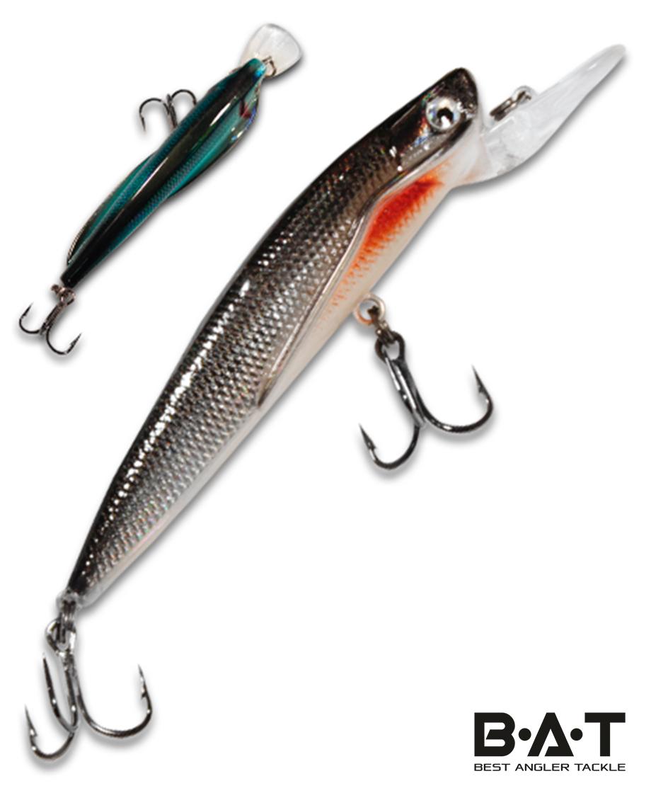 Воблер BAT Classic Flipper 4402090 (9 гр., 90 мм.2 м.) Цвет 255