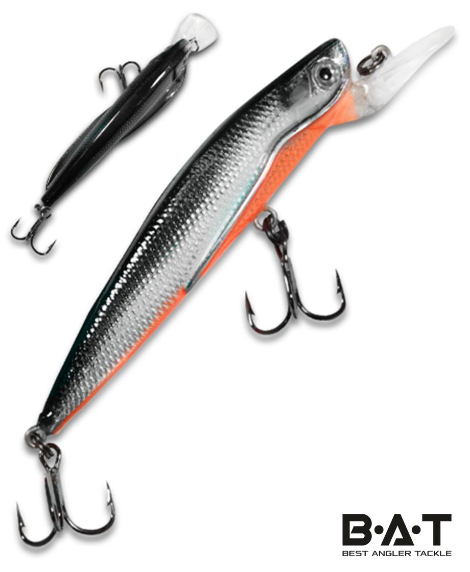 Воблер BAT Classic Flipper 4402090 (9 гр., 90 мм.2 м.) Цвет 299