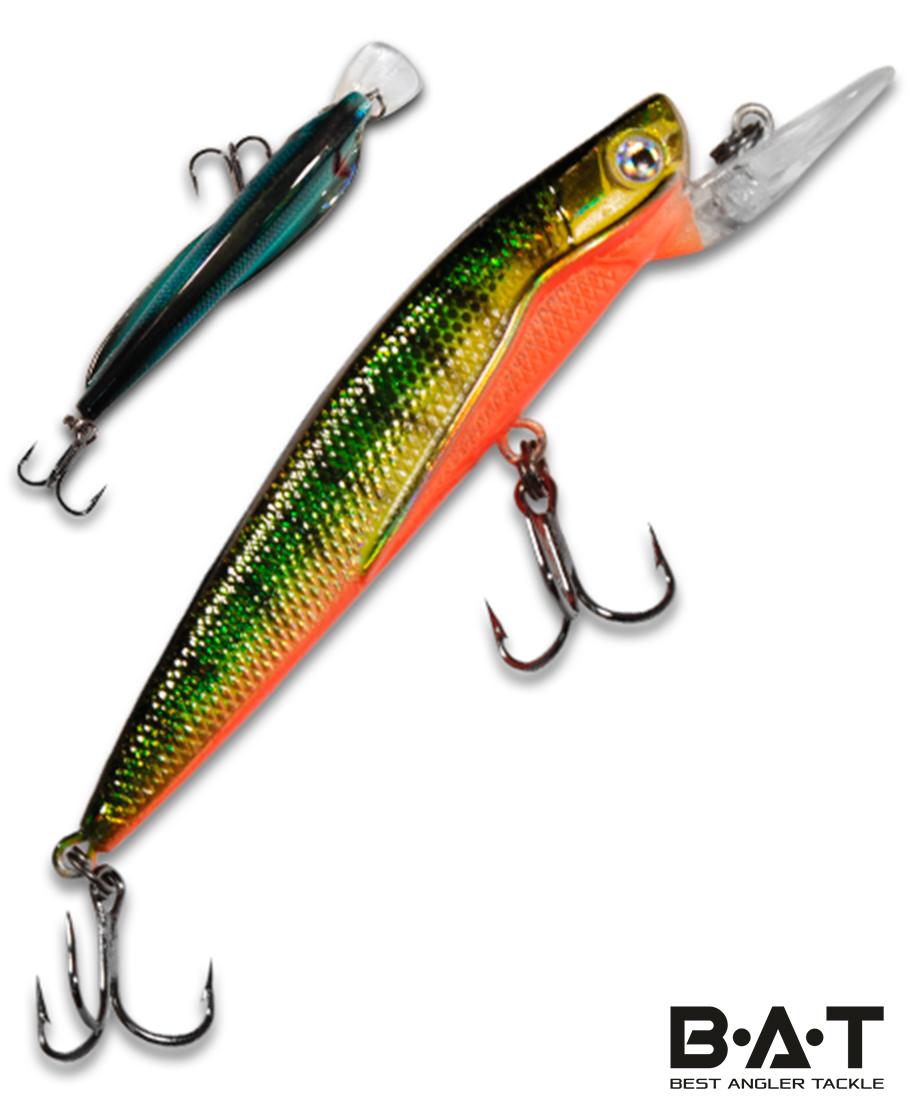 Воблер BAT Classic Flipper 4402090 (9 гр., 90 мм.2 м.) Цвет 316