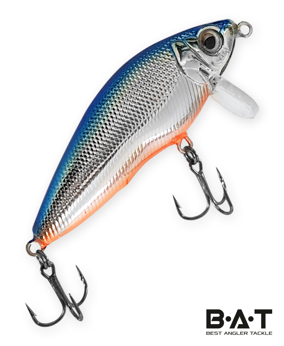 Воблер BAT Fighting Minnow 4446065 (8 гр., 65 мм.,3 м.) Цвет 298