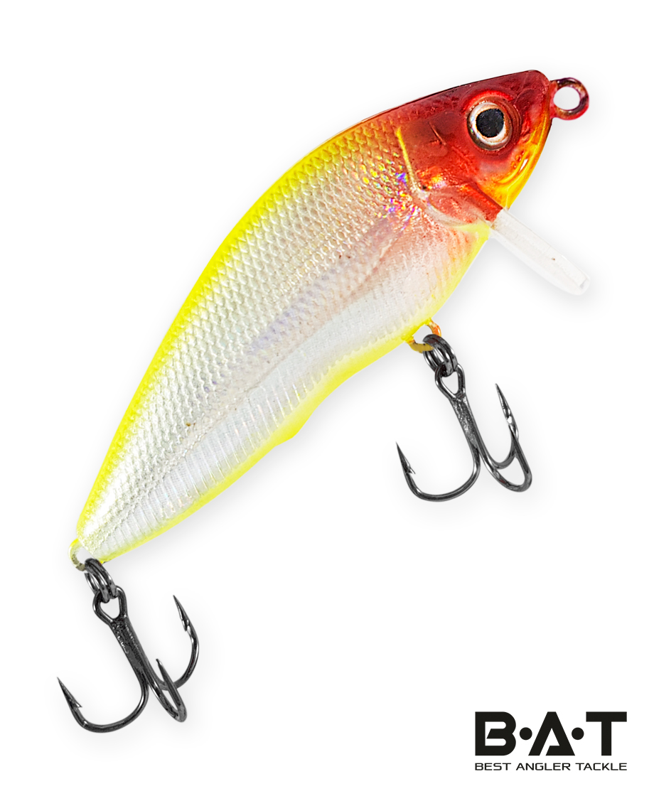 Воблер BAT Fighting Minnow 4446065 (8 гр., 65 мм.,3 м.) Цвет 303