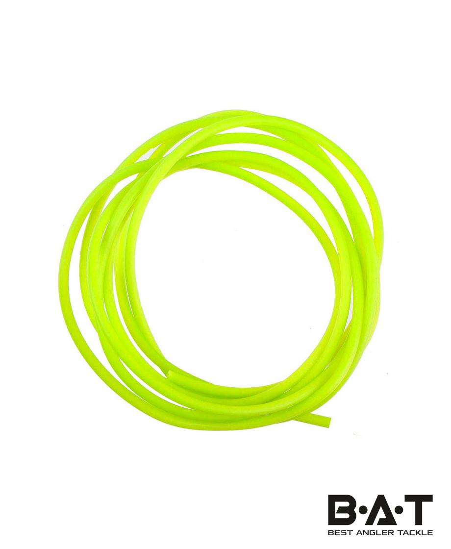 Кембрик силикон. д.2,0*3,0 флуоресц. желт. (Три Кита)