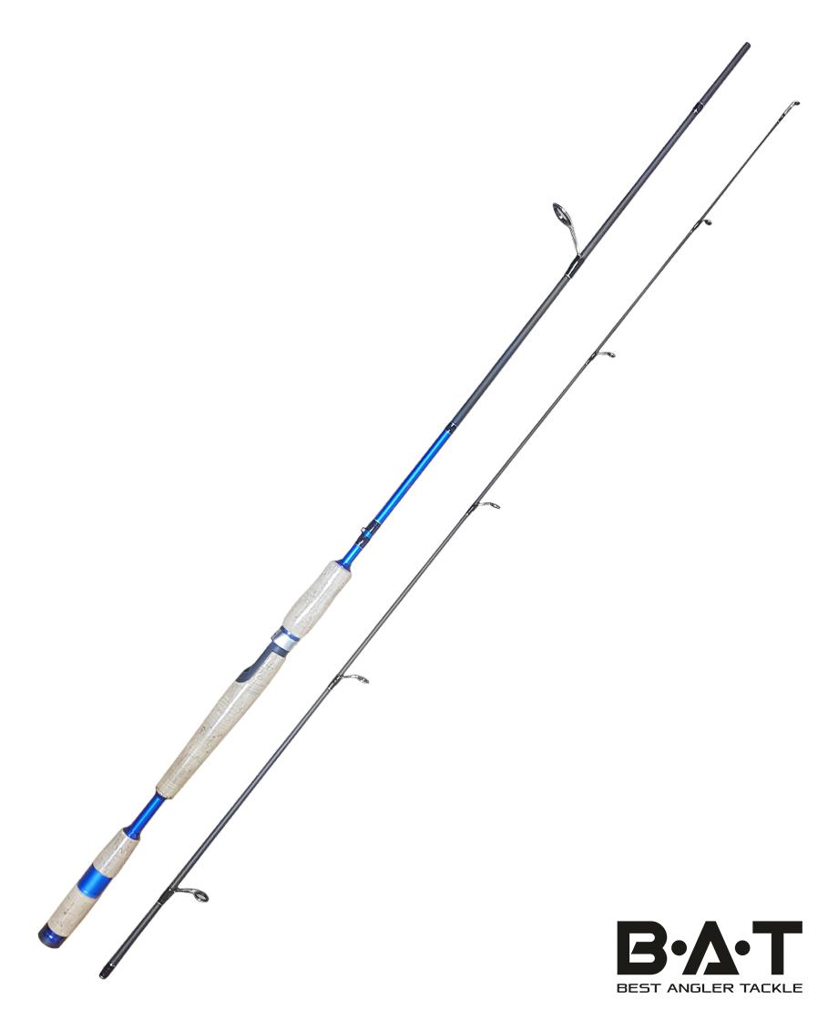 Спиннинг карбон.штек. SEAWOLF GRAFT 2,1 М (ДО 28 ГР.)