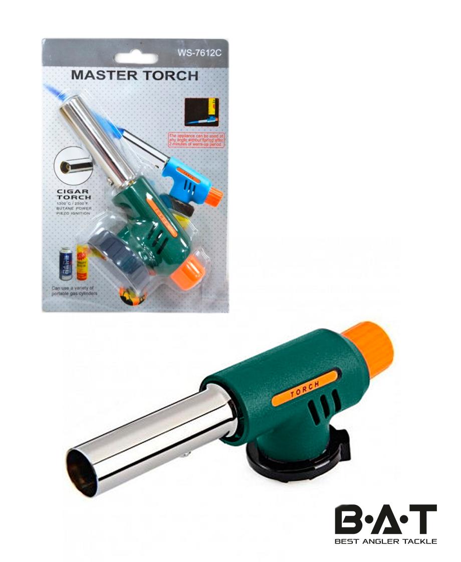 Горелка газовая пьезо MASTER TORCH WS-7612C