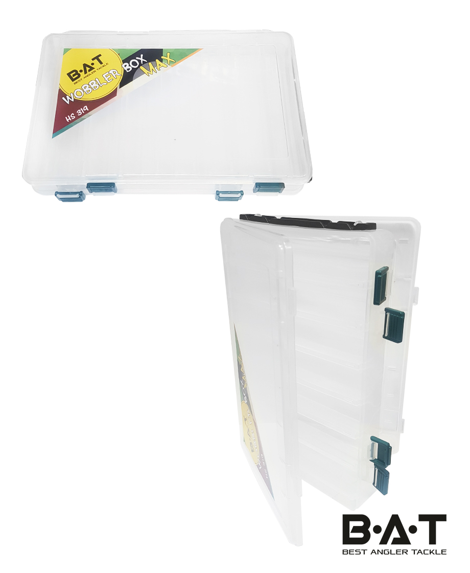 Коробка для воблеров двухсторонняя НS319