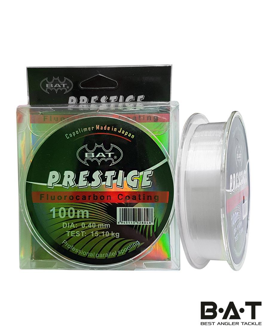 Леска ВАТ Prestige флюорокарбон 100м/ 0,4мм