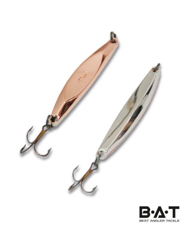 BAT ICE Fishing Jig 3450-100-10гр. Цв. 06-Cu-Silver
