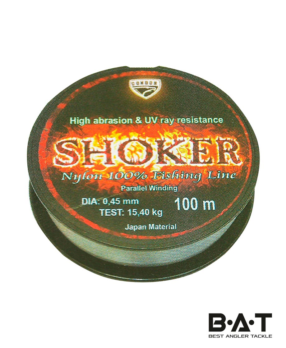 Леска CONDOR SHOKER 100м.,18 мм. Уп.10