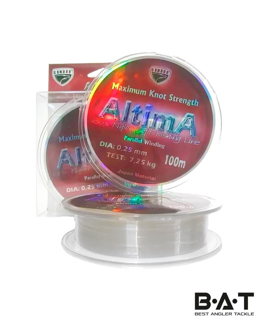 Леска CONDOR ALTIMA 100м..25 мм. Уп.10