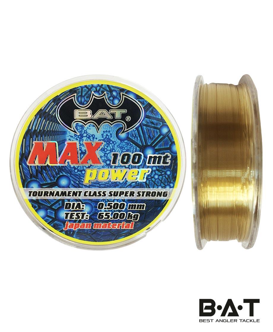 ЛЕСКА ВАТ MAX POWER b 100 м.,16мм.