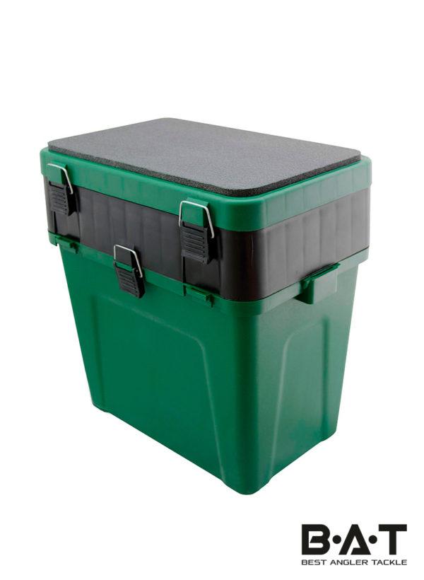 """Ящик зимний """"Три Кита"""" (380*360*240) зеленый"""