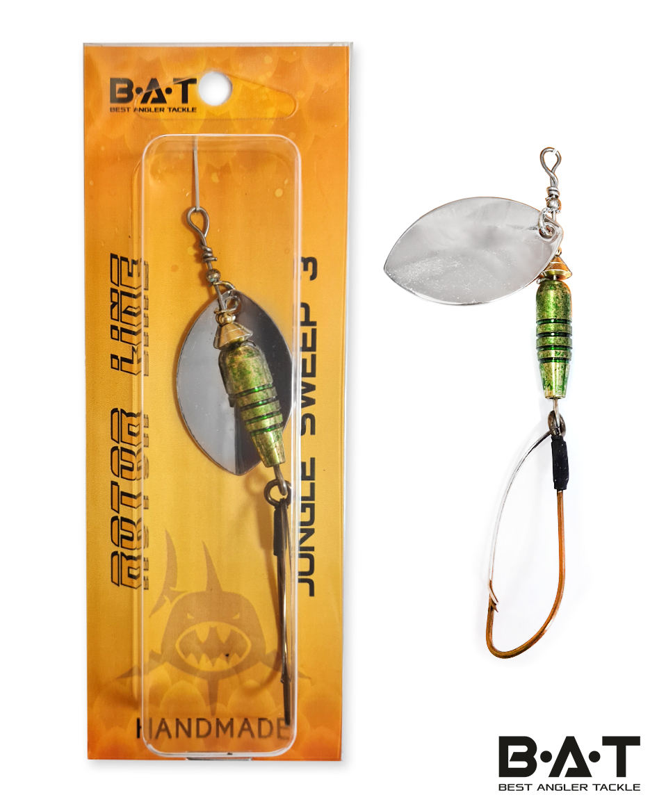 Блесна BAT HM JUNGLE SWEEP 3 Size:55mm 10.5g VR001