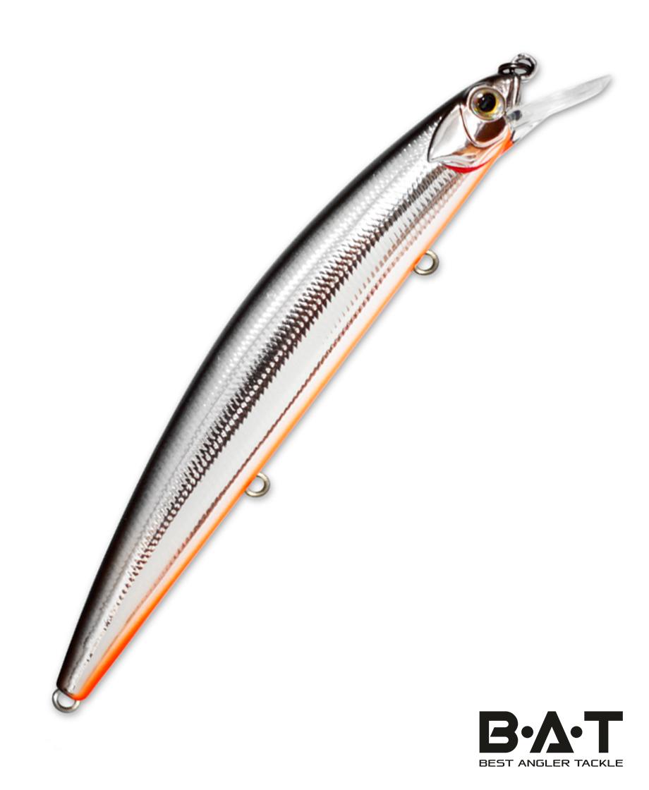 Воблер Kosadaka FLASH XS 110F плав., 110мм, 13.5г, 0.3-1.0м, цв.SBL