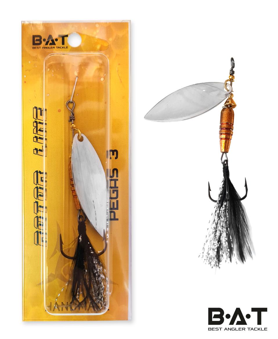 Блесна BAT HM PEGAS 3 Size:58mm 10.2g VR001