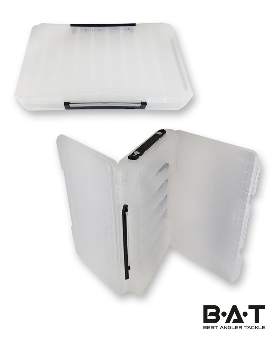 Коробка для воблеров двухсторонняя XL (350*210*50) 18 отд ev