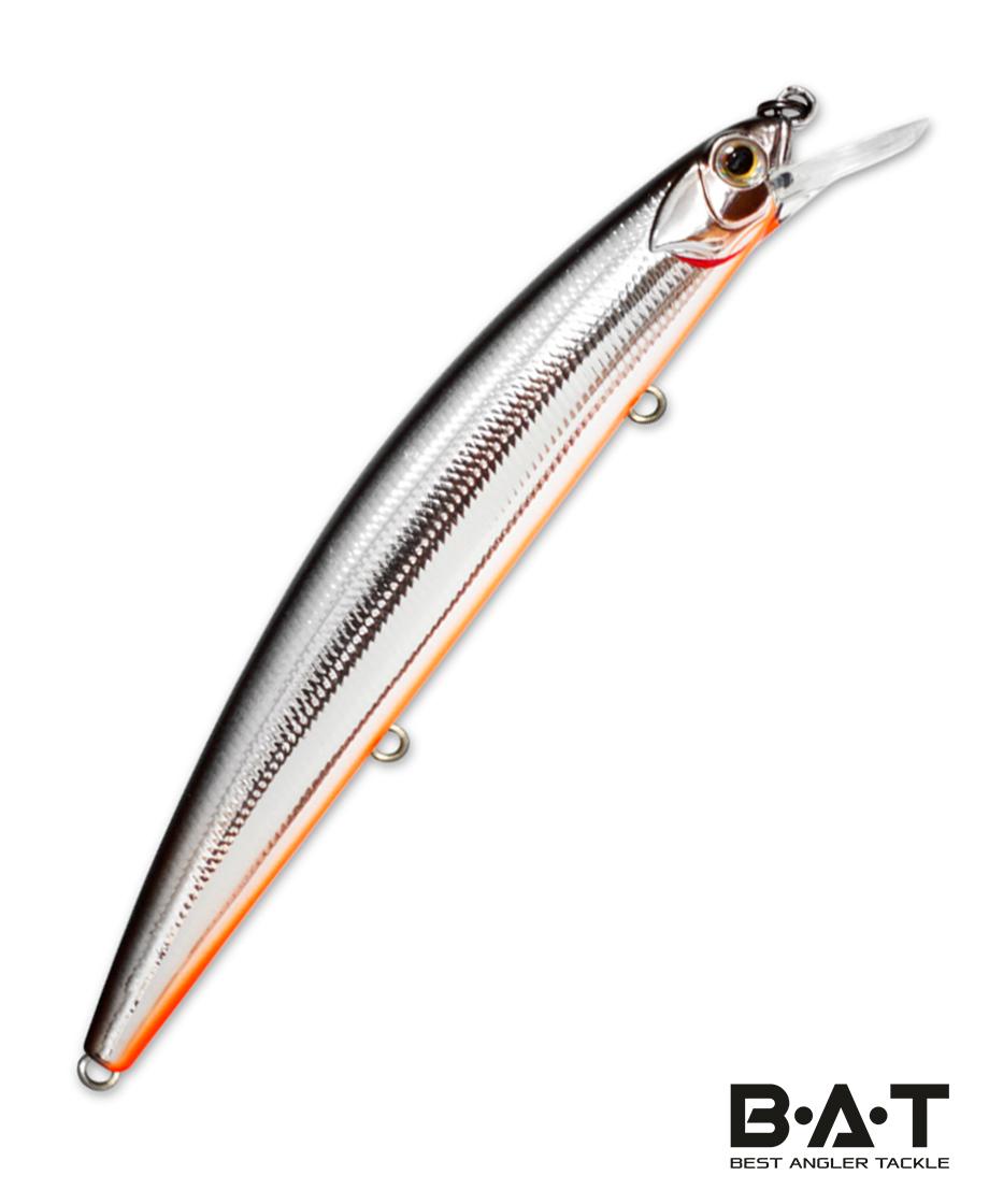 Воблер Kosadaka FLASH XS 130SP суспен., 130мм, 20.5г, 0.5-1.2м, цв.SBL