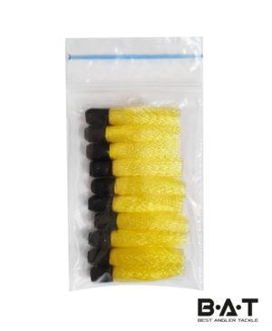 Вабик на трубке 2,5 см желтый уп 10