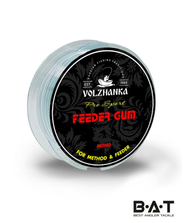 """Фидерная резина """"Feeder Gum"""" 0.7мм/5м цв. прозрачный"""