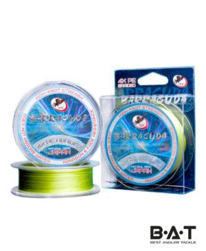 Леска плетёная ХOK PE 4X BARRACUDA LIGHT GREEN 0,128 mm 5.00 кг 150m