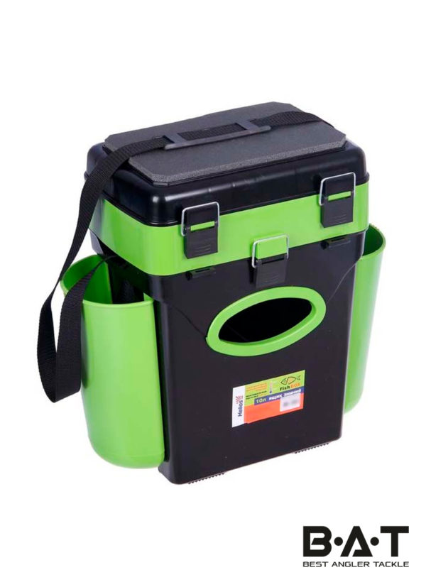 Ящик зимний FishBox (10л) зеленый Helios